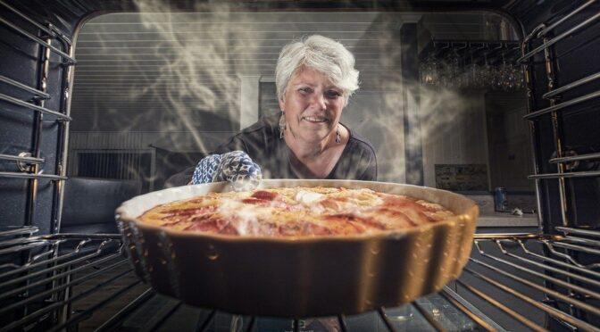 Hur lagar man en äppelpaj utan ugn?